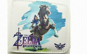 Legend of Zelda Wallet Purse Mens Kids Handbag Nintendo Wii U DS 3DS SNES Link