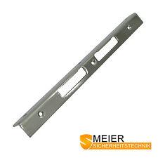 Sicherheits Winkelschliessblech 300x25x25x3 Stahl verchromt Schliessblech NEU