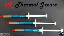 NEW 3x Thermal Compound Paste Grease for CPU  Gray Silicon