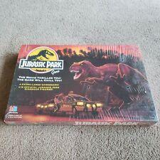 1992 JURASSIC PARK BOARD GAME .. COMPLETE DINOSAUR RAPTOR T-REX MOVIE - UNOPENED