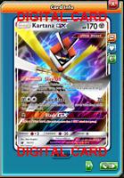 1x Kartana GX 70/111 Pokemon Card TCG Online Card PTCGO Digital Card
