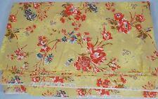 VIP Screen Print Fabric Cranston Print Works Company - Tan/Beige Floral  4 yards