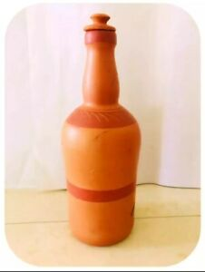 Naturel Clay Water Bottle Ceylon Handmade