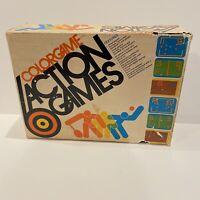 VINTAGE 1976 COLOR GAME ACTION GAMES INTERCON MARKETING CORPORATION SYSTEM RETRO