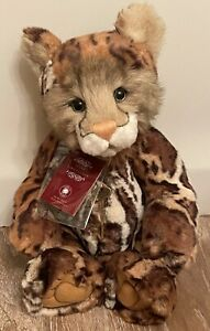 Charlie Bears ANNUSKA Clouded Leopard with tags Secret Collection 2018 CB185172