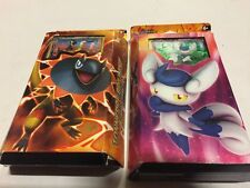 French Pokemon Xy Flashfire Set Of Both Theme Decks Card Game Iguolta Mistigrix