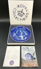 "Royal Copenhagen 2014 Collectors Plate ""Hans Christian Andersen� Nib With Coa"