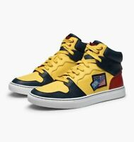 POLO SNOW BEACH RALPH LAUREN Hi Top Sneakers UK 7 US 8