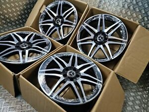 """Genuine Mercedes E Class Spider 19"""" AMG Alloy Wheel Night Edition Staggered W212"""