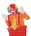 PAYASO MULTICOLOR ARCOIRIS Accesorios de Disfraz Pintura facial Circo Hombre