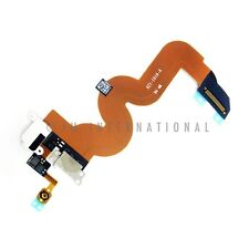 White iPod Touch 5th Gen Charging Port Dock Connector Audio Jack Flex Cable USA