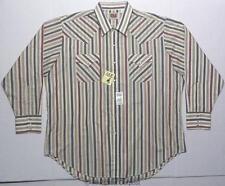 NWT Ely Cattleman Western Wear Long Sleeve Shirt Mens Size XXL 2XL