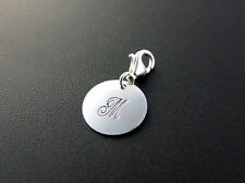 Charm-anhänger INITIAL Monogram 925 Silber Charms NEU