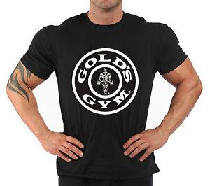 "T-Shirt Bodybuilding Fitness Palestra ""Gold's Gym..."""