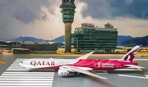 Phoenix 1/400 Diecast Aircraft Model QATAR AIRWAYS WORLD CUP B777-300ER,04364
