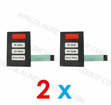 2 pcs Phase 5 Coin Keyboard Keypad For American Dryer, ADC Stack Dryer # 112526