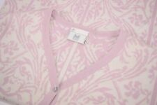 Dale of Norway Cotton Women's Sweater Size Medium in Pink and Cream