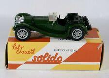 Solido Jaguar SS 100 1938 réédition Hachette jamais joué en boite 1/43 MIB