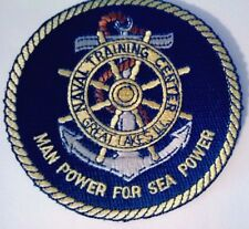 U.S. Navy Naval Training Center Great Lakes ILL, Patch  Man Power for Sea Power