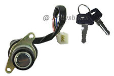 KAWASAKI KH250 KH400 KH S1 250 350 400 IGNITION SWITCH LOCK KEYS 6 WIRE 1973-78