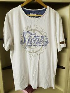 Smith & Jones Elite Team Project White T Shirt, Size XL