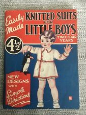 KNITTED SUITS FOR LITTLE BOYS