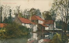 Postcard Lincolnshire the Old Mill Louth posted 1916