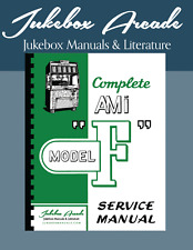 New! Complete Ami Model F Service Manual, Parts Lists and Troubleshooting Charts