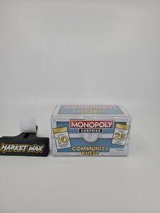 Monopoly Surprise Community Chest - 10 Piece Mystery Chest Blue