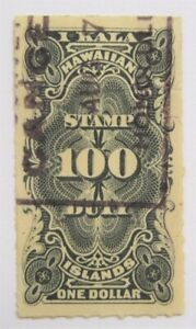 Hawaii $1 Dollar Revenue R3 used decent centering