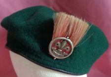 1960s Boy Scouts Beret with Ass Scout Leader Plume 1920 2nd issue
