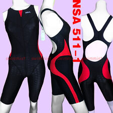 NWT NSA 511-1 COMPETITION RACING SHARKSKIN KNEESKIN XS GIRLS 8-10 US MISS 0 Sz26