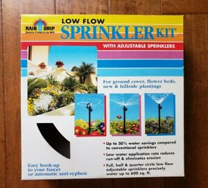 Raindrip R547D Low Flow Sprinkler Kit New in Box 2006 Garden Water Drip System