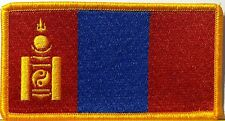 MONGOLIA Flag Military Patch With VELCRO® Brand Fastener Shoulder Emblem #7