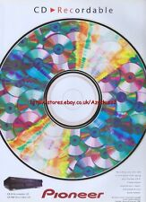 Pioneer CD Recordable 1999 Magazine Advert #2626