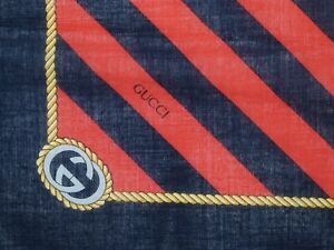 GUCCI SMALL COTTON SCARF OR LARGE HANKERCHIEF