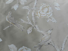 Zoffany Curtain Fabric 'woodville Silk' 3 Metres 300cm Tussah - 100 Silk