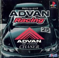 USED PS1 PS PlayStation 1 ADVAN Racing 10233 JAPAN IMPORT