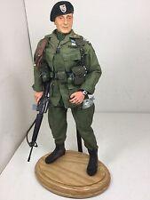 1/6 BBI US GREEN BERET JOHN WAYNE VIETNAM SPC FRCS M-16 +STAND SIDESHOW DRAGON