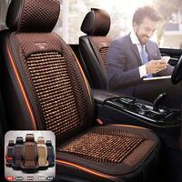 1Pcs Natural Wooden Beaded Auto Car Van Taxi Seat Cover Bead Bamboo Cushion