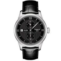 Tissot Men's Le Locle 39.3mm Leather Band Automatic Watch T006.428.16.058.02