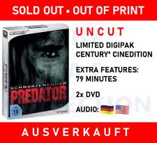 Schwarzenegger predator Limited digipak Century 3 cinedition Uncut 2 disc DVD rar