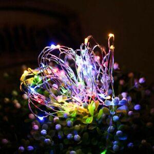 Photo Clip Fairy String Led Light Christmas Garland Wedding Party Home Decor New