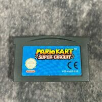 Mario Kart Super Circuit Nintendo Game Boy Advance GBA Game Cart Only Genuine