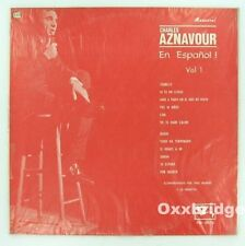 CHARLES AZNAVOUR RARE LP NM Armenian French En Espanol BARCLAYS Colombia Latin