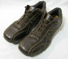 Id Required Mens Size 15M Brown Lace Up Bicycle Toe Casual Shoes 043239