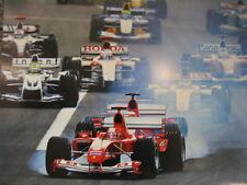 Poster Marlboro Ferrari F2004 2004 #1 Michael Schumacher (GER) Start extra dik