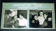 1947 Jack Dempsey ONE-OF-A-KIND giant photo display boxing Heavyweight Champion