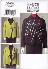Marcy Tilton Arte De Desgaste Vogue Patrón de costura Misses Muy suelto