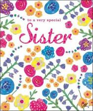 Special Sister Birthday Greeting Card Kirstie Allsopp Range Cards For Her